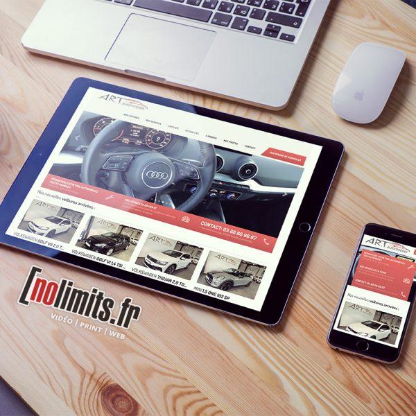 site nolimits.fr art automobiles soultz sous foret alsace voiture vente web boutique en ligne business siteweb haguenau wissembourg